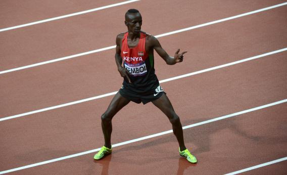 Ezekiel Kemboi 2012 Olympics