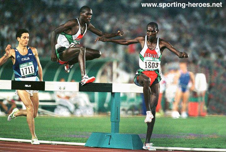 Moses Kiptanui, Joseph Keter 1996 Olympics