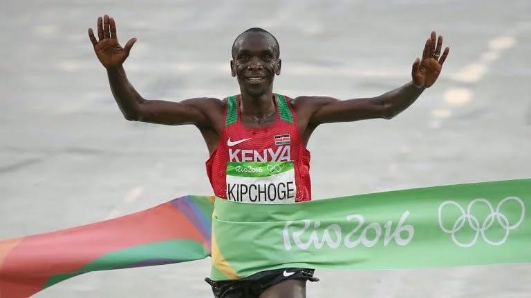 Eliud Kipchoge 2016 Olympics