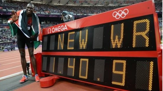 David Rudisha world record