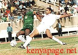 Bernard Onyango takes on Tunisia