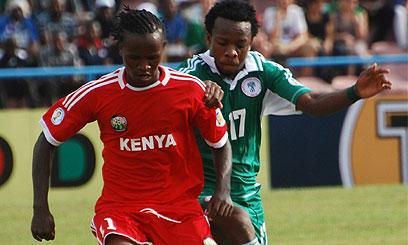 Francis Kahata vs Nigeria 2014