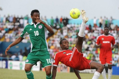 Mulinge Munandi of Kenya vs Obi Mikel of Nigeria