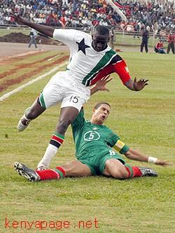 Bernard Mwalala vs Morocco