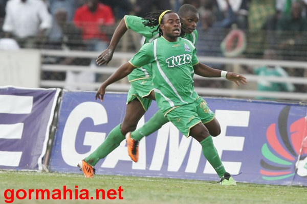 Selenga after scoring for Gor Mahia