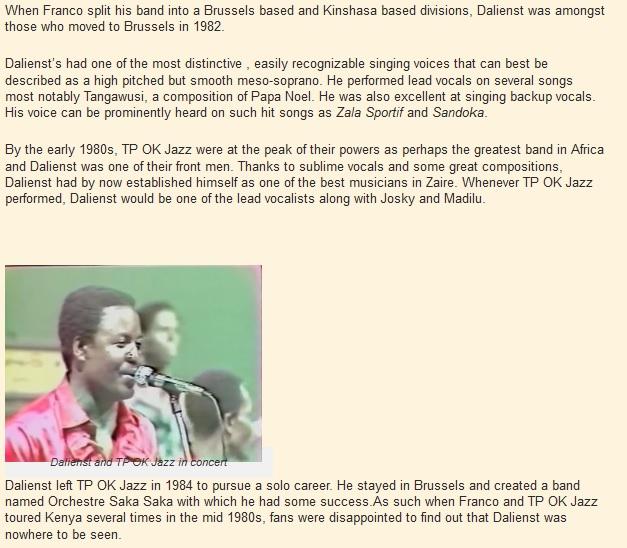 Ntesa Dalienst biography | Kenya Page Blog