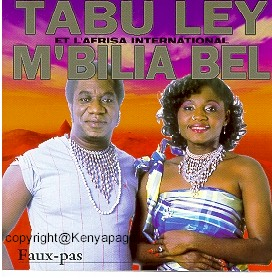 Tabu Ley and Mbilia Bel