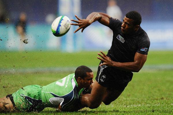 Biko Adema vs Fiji 2013 Rugby World cup