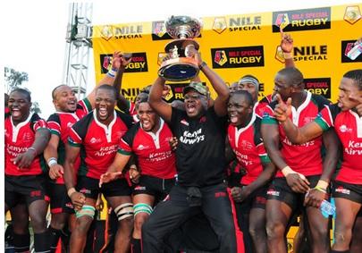 Kenya celebrate 2013 Elgon cup